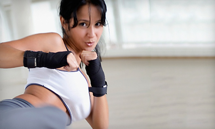 Ladimax Sports and Fitness - Valhalla: $49 for 10 Women's Self-Defense Boot-Camp Classes at Ladimax Sports and Fitness in Valhalla ($200 Value)