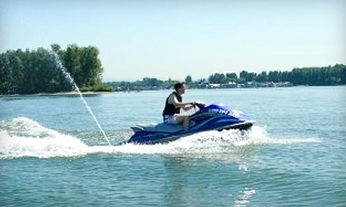 DreamLife Northwest - Downtown: $89 for Two Hours of Jet Skiing from DreamLife Northwest (Up to $179 Value)