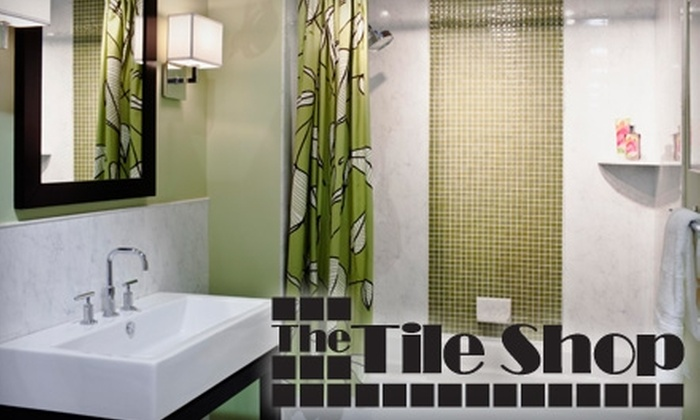The Tile Shop St. Louis - Multiple Locations: $55 for $120 Worth of Home-Project Goods at The Tile Shop