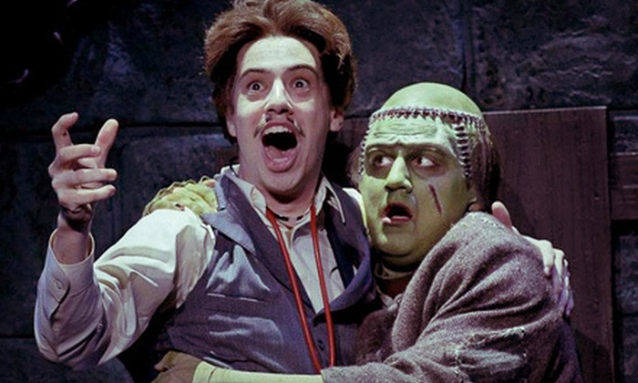 """""""Young Frankenstein"""" Musical - Downtown Brampton: $39 to See """"Young Frankenstein"""" Musical at Rose Theatre in Brampton (Up to $100 Value)"""