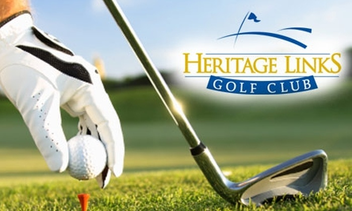 Heritage Links Golf Club - Credit River: $24 for 18 Holes of Golf with One Cart at Heritage Links Golf Club (Up to $50 Value)