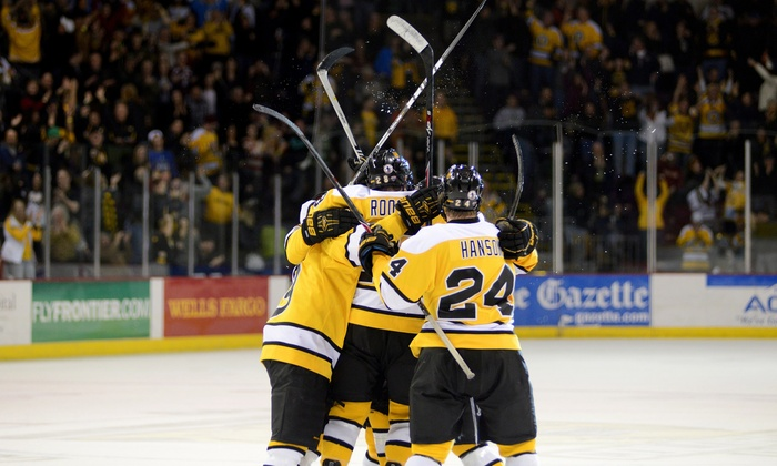 Colorado College Tigers Hockey - The Broadmoor World Arena: Colorado College Tigers Hockey Game for Two at Broadmoor World Arena  (Up to 57% Off). Two Games and Seating Options.