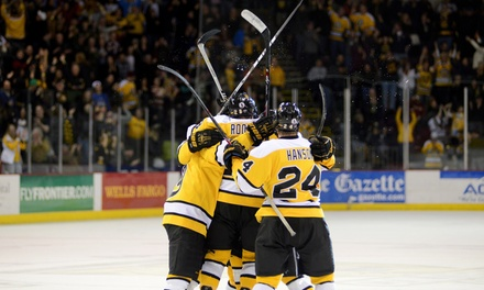 Colorado College Tigers Hockey Game for Two at Broadmoor World Arena  (Up to 57% Off). Two Games and Seating Options.