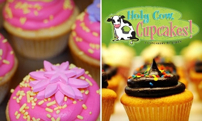 Holy Cow, Cupcakes! - Indianapolis: $12 for One Dozen Gourmet Cupcakes at Holy Cow, Cupcakes! ($24 Value)