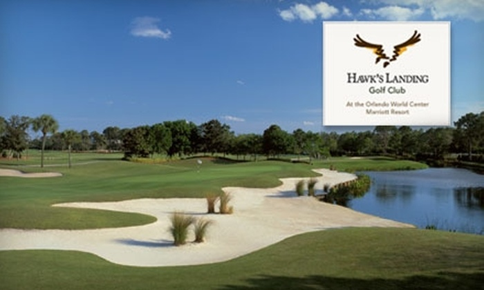 Hawk's Landing Golf Club - Marriott World Center: $45 for One Round of Golf with Cart and Balls at Hawk's Landing Golf Club ($95 Value)