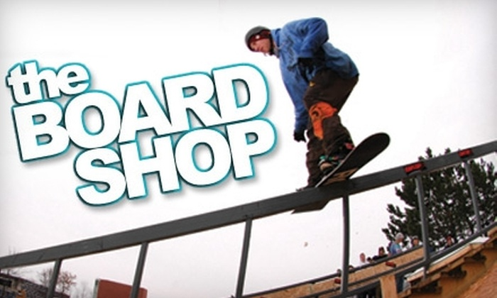 The Board Shop - Southcrest: $22 for a Snowboard Tune-Up at The Board Shop ($45.20 Value)