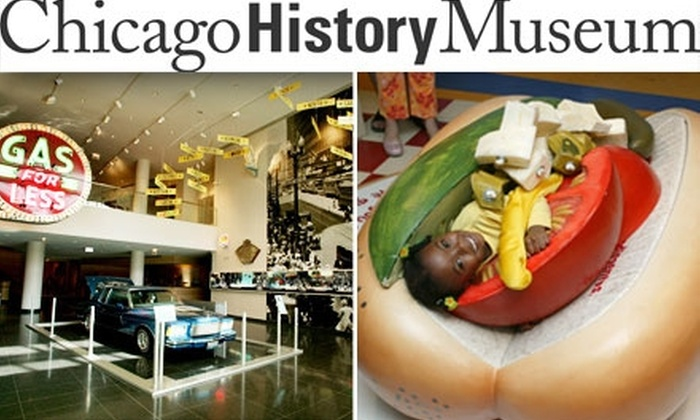Chicago History Museum - Near North Side: $7 Admission to the Chicago History Museum (Up to $14 Value)