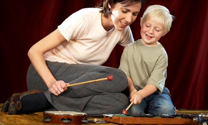 Little Hearts Music Together - Multiple Locations: $90 for a 10-Week Children's Music Class at Little Hearts Music Together ($180 Value)