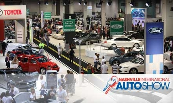 Nashville International Auto Show - Downtown Nashville: $4 for One Adult Ticket to the Nashville International Auto Show, Produced by Motor Trend, at the Nashville Convention Center (Up to $8 Value)