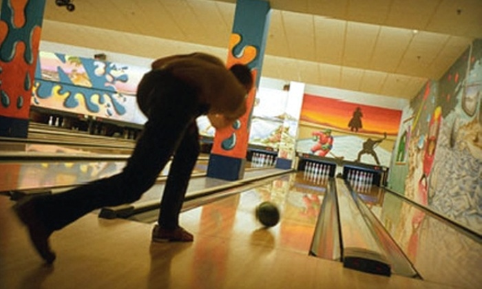 Fireside Bowl - Chicago: $12 for One Hour of Bowling and Shoe Rental at Fireside Bowl (Up to $37 Value)