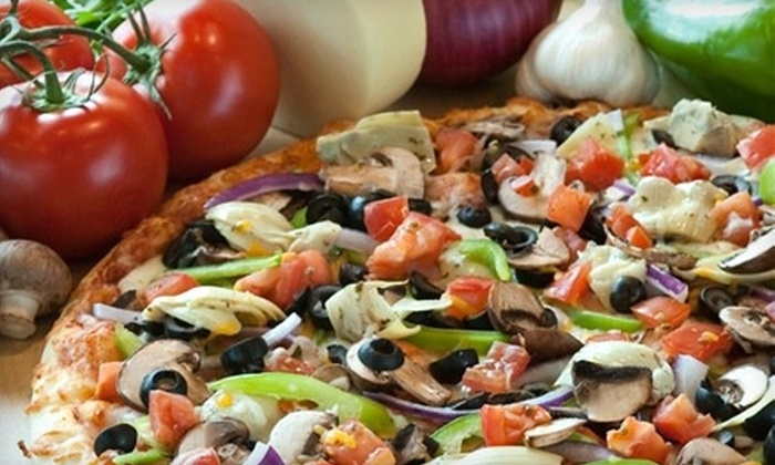 Straw Hat Pizza - Bryant: $10 for $20 Worth of California-Style Pizza and More at Straw Hat Pizza in Bryant