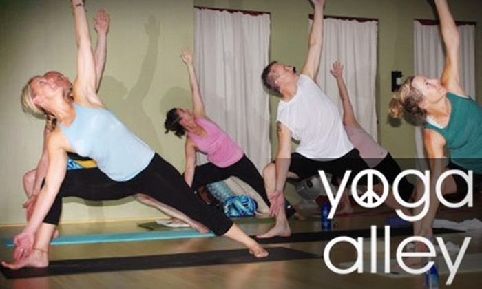 Yoga Alley - Downtown Lee's Summit: $15 for Three Drop-In Yoga Classes at Yoga Alley ($36 Value)