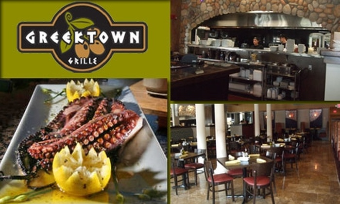 GreekTown Grille - Clearwater: $12 for $25 Worth of Food and Drinks at GreekTown Grille