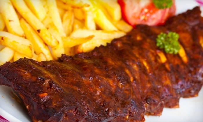 The Shack Hometown Grill - Fairfield: $10 for $20 Worth of Ribs, Burgers, and More at The Shack Hometown Grill