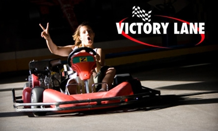 Victory Lane Indoor Karting - Riverton: $10 for 50 Laps Each for Two People at Victory Lane Indoor Karting ($30 Value)