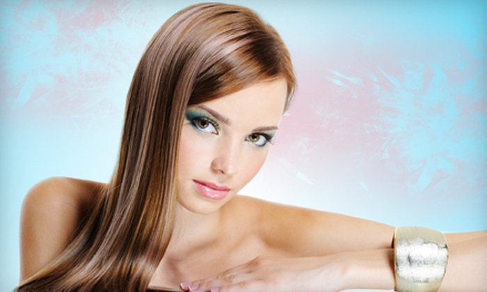 Hair Fetish  - Meadow Creek Retail: Keratin Extra Express Treatment or Microdermabrasion at Hair Fetish in Mesquite (Up to $100 Value)