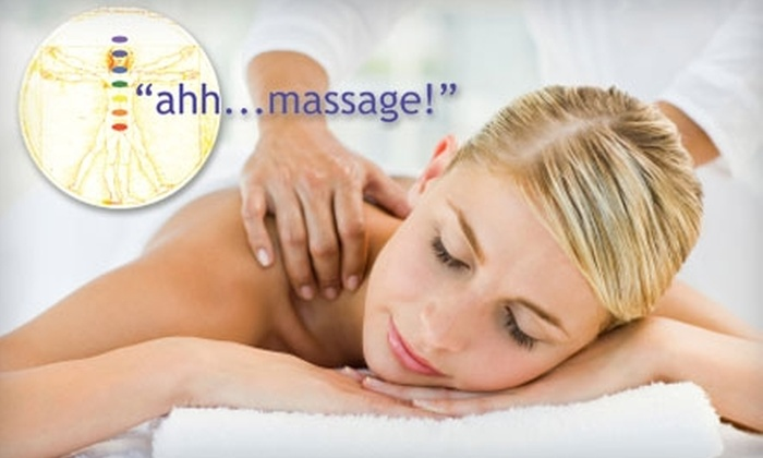 Ahh...Massage! - Madison: $35 for a 60-Minute Massage at Ahh…Massage! ($70 Value)