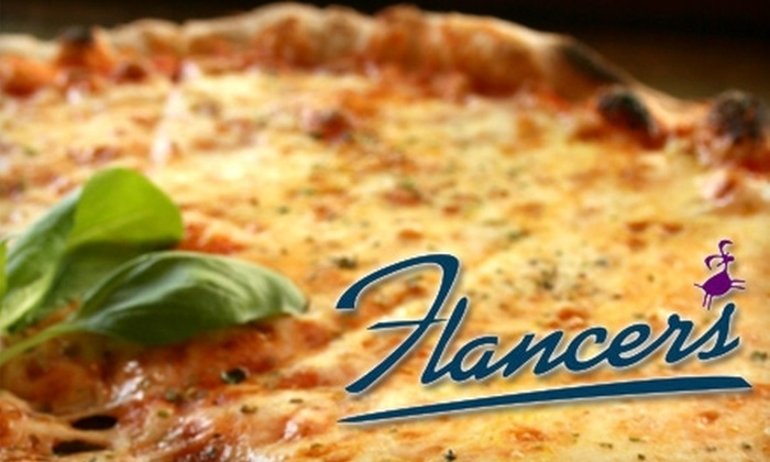 Flancer's - Multiple Locations: $8 for $16 Worth of Pizza and Sandwiches at Flancer's