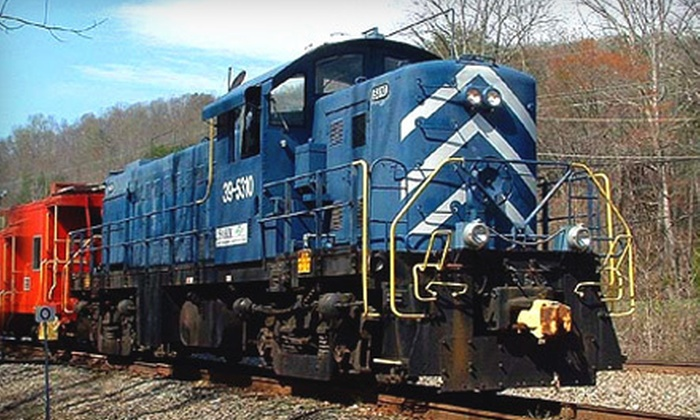 Southern Appalachia Railway Museum - 4: Train Excursion for Two Children or Adults at the Southern Appalachia Railway Museum in Oak Ridge (Half Off)