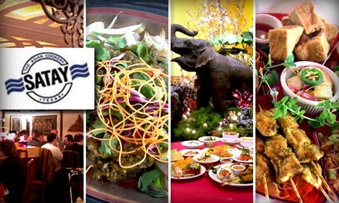 Satay Restaurant - North Shoal Creek: $15 for $30 Worth of Thai Cuisine at Satay Restaurant