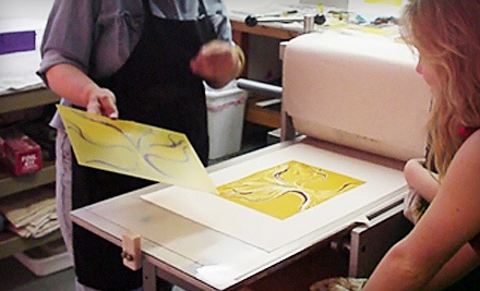 One 5-Hour Private Printmaking Workshop ($175 value) - New Grounds Print Workshop & Gallery in Albuquerque