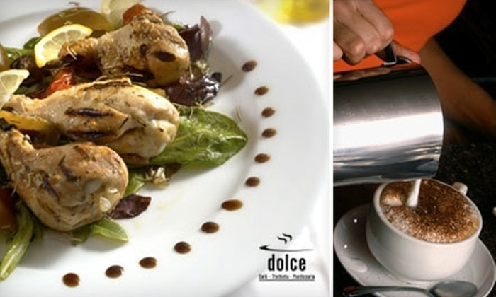Cafe Piazza Dolce - Winchester: $12 for $25 Worth of Italian Cuisine at Cafe Piazza Dolce