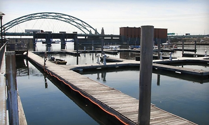 The Whiskey Republic - Providence: $1,625 for a Six-Month Boat-Slip Rental at the Fox Point Marina ($5,100 Value)