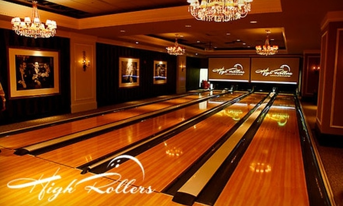 High Roller Luxury Lanes - Ledyard: $10 for 2 Games & 2 Shoe Rentals at High Roller Luxury Lanes