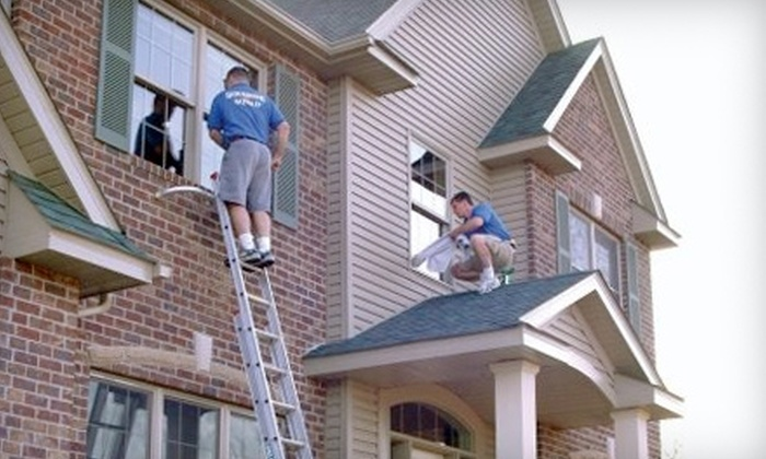 Squeegee Squad - Downtown: $40 for $80 Worth of Residential Exterior-Window Cleaning from Squeegee Squad