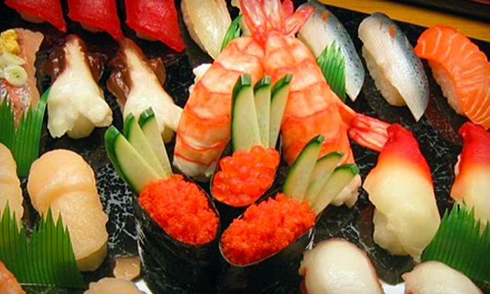 Blue Ocean - Far North Side: $15 for $30 Worth of Contemporary Sushi & Drinks at Blue Ocean