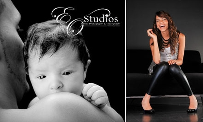 "Elegant Occasions - Tamarac: $70 for an In-Studio Photo Session, a Professionally Mounted 11""x14"" Portrait, and Online Photo Viewing at Elegant Occasions"