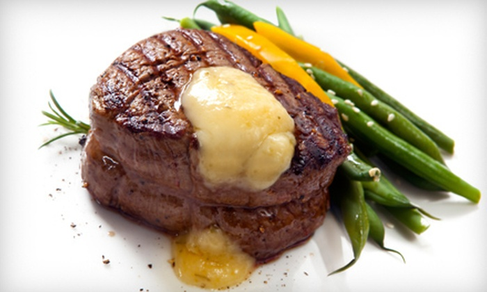 Beelow's Steakhouse - Ela: $15 for $30 Worth of Steakhouse Fare for Dinner Sunday–Thursday or Any Night at Beelow's Steakhouse in Lake Zurich