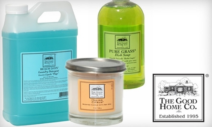 The Good Home Company - Chelsea: $20 for $40 Worth of Scented Home and Bath Products at The Good Home Company