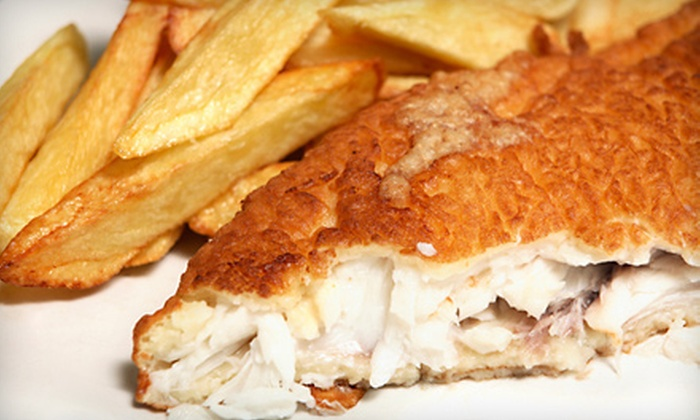 PJ Ryan's Pub - Phoenixville: $28 for One Appetizer and Two Entrees at PJ Ryan's Pub in Phoenixville (Up to $58 Value)