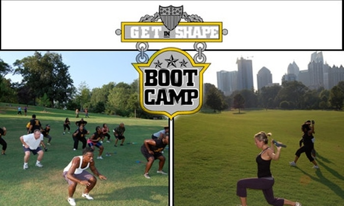 Get in Shape Boot Camp - Multiple Locations: $44 for One Month of Unlimited Boot-Camp Sessions from Get in Shape Boot Camp ($250 Value)