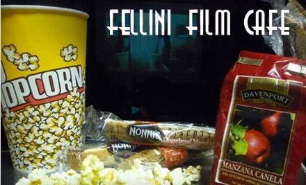 $10 Groupon to Fellini Film Cafe - Fellini Film Cafe in El Paso