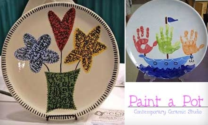 Paint a Pot - Holland: $12 for $25 Worth of Pottery Painting at Paint a Pot in Holland
