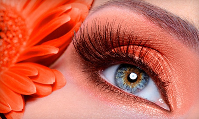Amia Lash Studio - Woodlake - Briar Meadow: Full Set of Eyelash Extensions with Option for Touch-Up at Amia Lash Studio (Up to 72% Off)