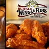 53% Off at Buffalo Wings and Ribs Family Restaurant