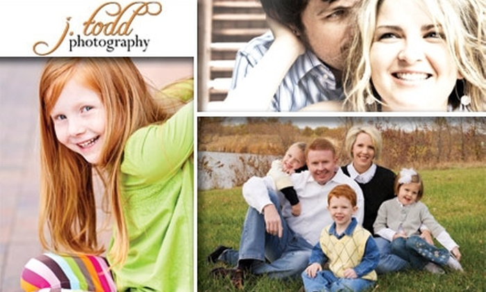 J Todd Photography - Kansas City: $50 for a One-Hour Photography Session, Five Edited Digital Pictures, and 10 Percent Off Additional Products with J. Todd Photography ($325 Value)