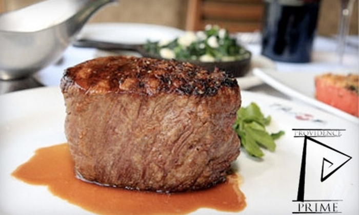 Providence Prime - Federal Hill: $30 for $60 Worth of Premium Steaks and Seafood at Providence Prime