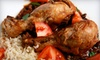 Supa D Tropical Bar & Grill - Northeast Tampa: Caribbean Fare and Drinks at Supa D Tropical Bar & Grill (Up to 55% Off). Two Options Available.