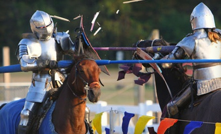 2 Adult Admissions (up to a $32 value) on September 2425 - Connecticut Renaissance Faire in Hebron