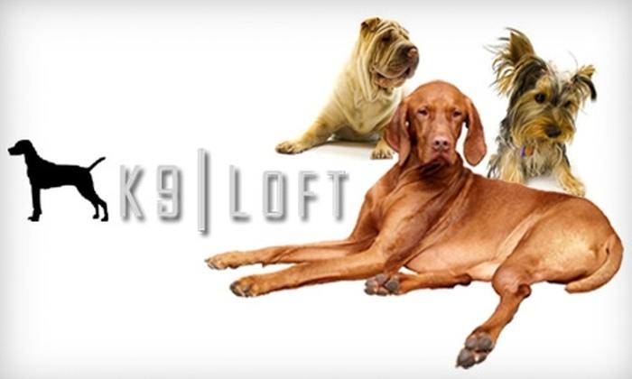 K9 Loft - Sherman Oaks: $17 for $35 Worth of Pet Daycare or Grooming at K9 Loft