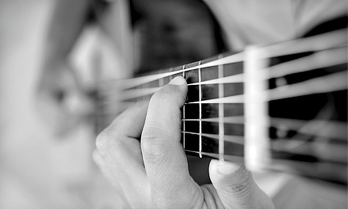 Music Masters - Warner Robins: $35 for Four Private Guitar Lessons at Music Masters ($75 Value)