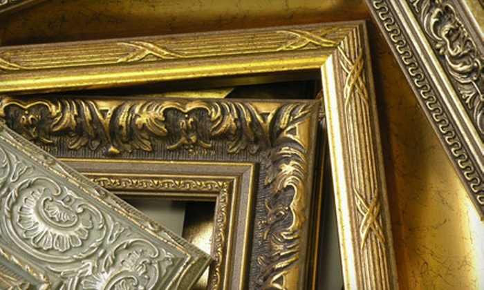 Creative Framing - Downtown Kingston: Custom Framing at Creative Framing (53% Off). Two Options Available.