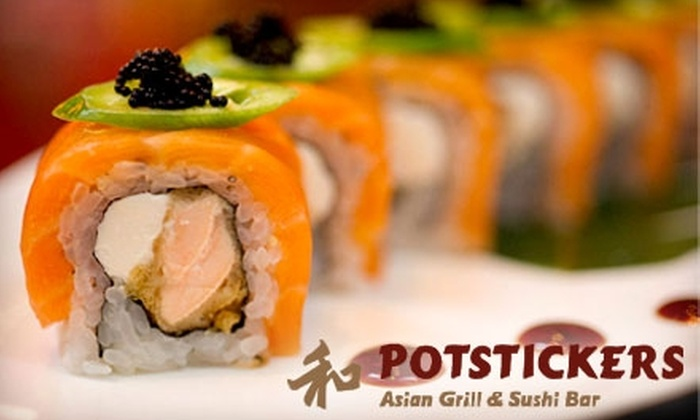 Potstickers Asian Grill & Sushi Bar - Upper Christiana: $15 for $30 Worth of Euro-Asian-Fusion Cuisine at Potstickers Asian Grill & Sushi Bar