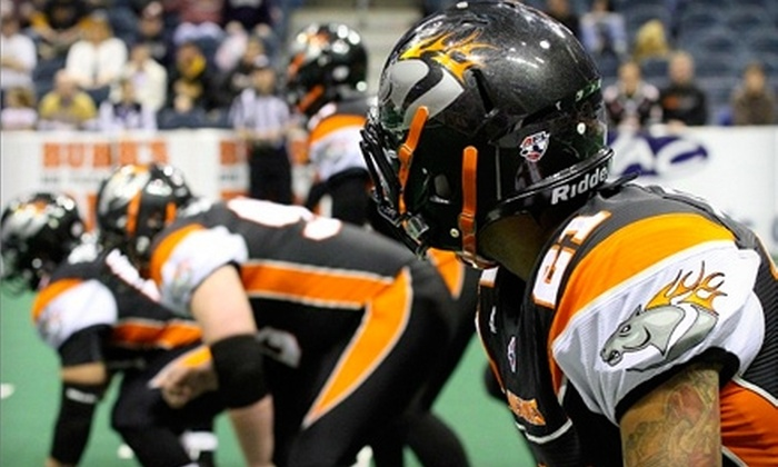 Milwaukee Mustangs - Kilbourn Town: Two Tickets to a Milwaukee Mustangs Arena-Football Game. Five Options Available.
