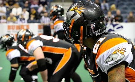 Milwaukee Mustangs vs. Iowa Barnstormers on Fri., Jul. 15 at 7PM: Light-Blue Section (Back End Zone)  - Milwaukee Mustangs in Milwaukee