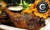 Jamaica House - Woodlake - Briar Meadow: $27 for a Caribbean Dinner with Tapas, Soup, Entrees, and Dessert for Two at Jamaica House (Up to $59.70 Value)